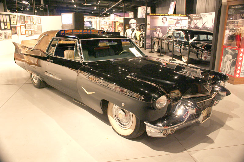 Cadillac from when it was on display at historic auto attractions