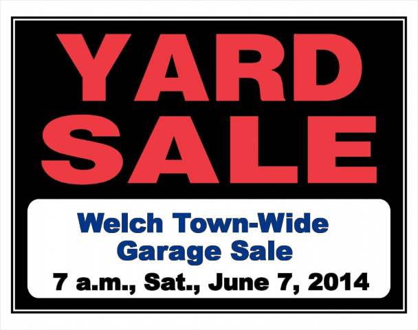 welch town wide garage sale 2014 (Small)