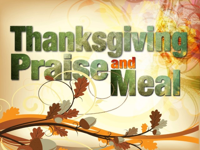 thanksgiving service and meal (Small)
